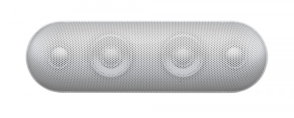 Beats Pill+ in White front view